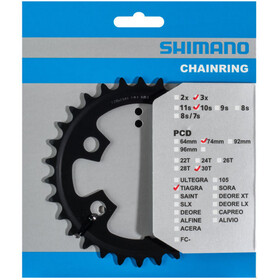 Shimano Tiagra FC-4703 Chainring 10-speed MM, black